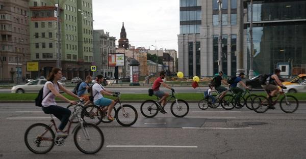 Пятый Московский велопарад, Велосипедисты (фото 13)