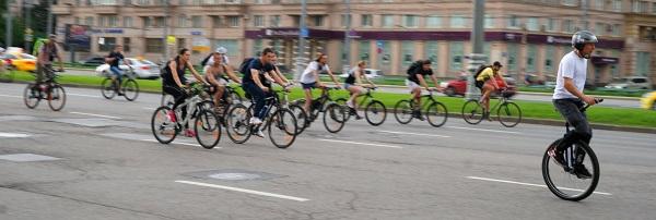 Пятый Московский велопарад, Велосипедисты (фото 14)
