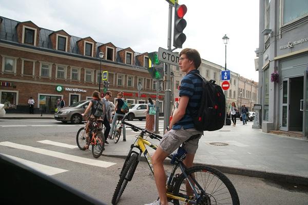 Пятый Московский велопарад, Велосипедисты (фото 19)