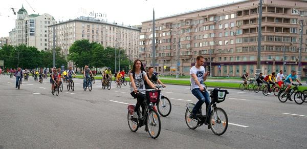 Пятый Московский велопарад, Велосипедисты (фото 2)