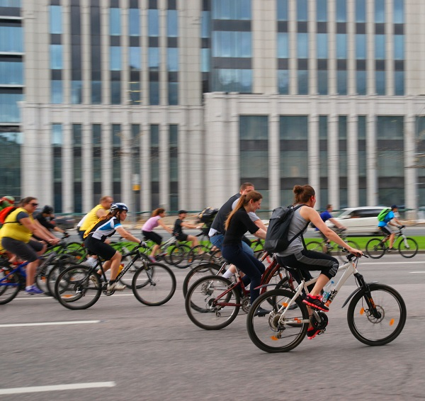 Пятый Московский велопарад, Велосипедисты (фото 3)