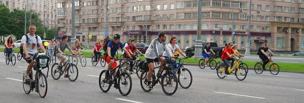 Пятый Московский велопарад, Велосипедисты (фото 4)