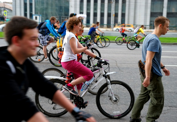 Пятый Московский велопарад, Велосипедисты (фото 6)