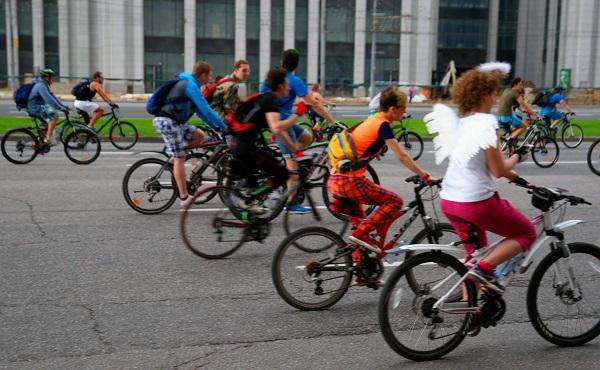 Пятый Московский велопарад, Велосипедисты (фото 7)