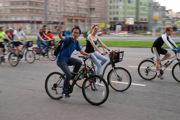 Пятый Московский велопарад, Велосипедисты (фото 9)