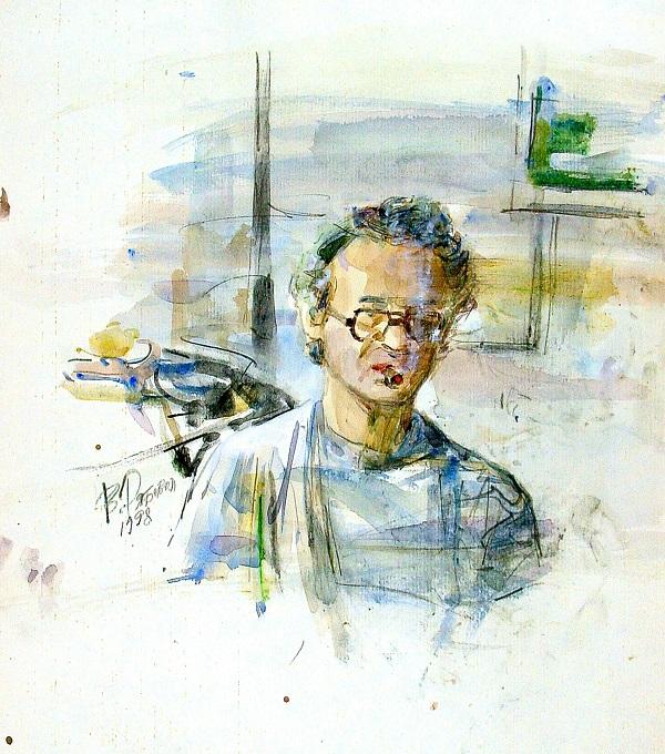 "Валерий Рябовол ""Автопортрет"""