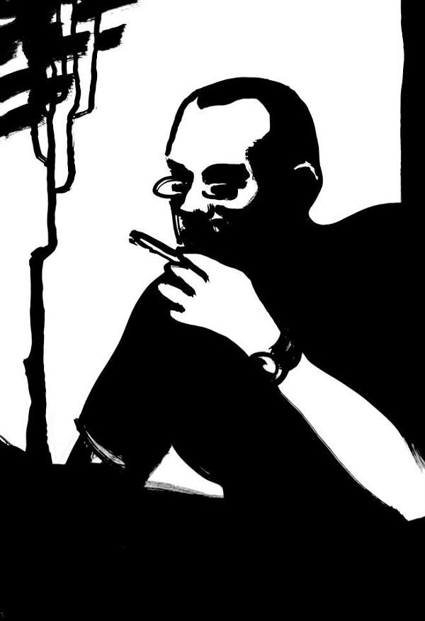 """Константин Малютин автор проекта   """"Scribens Trabem"""" автопортрет"""