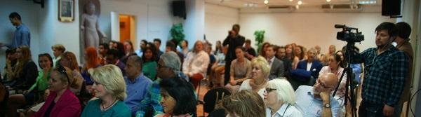 """Культурный центр  имени Джавахарлала Неру  Церемония награждения авторов фильма """"Ботальонъ"""""""