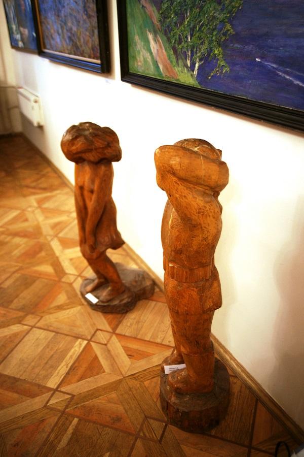 Скульптура  Александра Рябичева