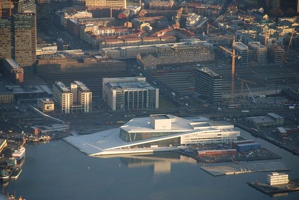 Оперный театр в Осло 5.