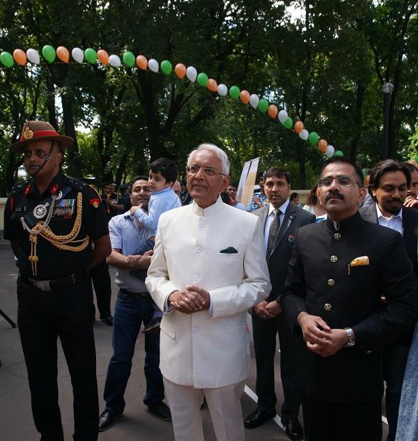 Посольство Индии в Москве, День Независимости Индии (фото 41)