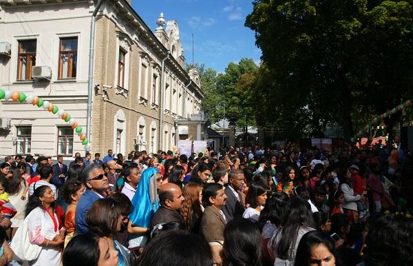 Посольство Индии в Москве, День Независимости Индии (фото 47)
