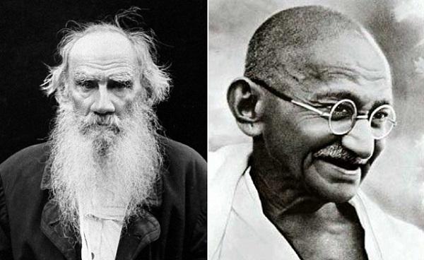 Махатма Ганди Лев Толстой