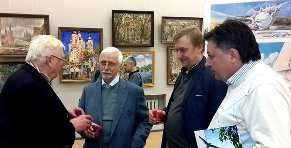 Открытие юбилейной выставки Виктора Федоровича Орловского  в Центральном Доме Архитектора фото: Дмитрий Стоянов