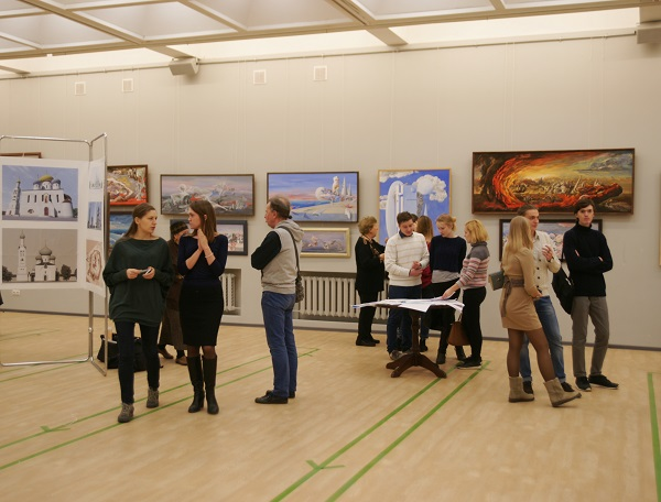 Выставка Виктора Орловского (фото 10), ЦДА