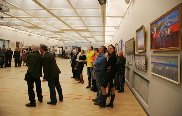 Выставка Виктора Орловского (фото 5), ЦДА