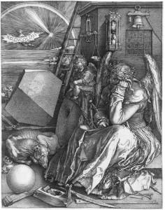 """Альбрехт Дюрер """"Меланхолия"""" 1514 г"""