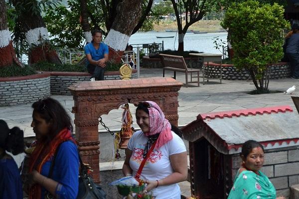 Фото из архива Мариам Непал, Покхара, озеро Фева.