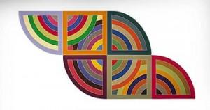 Фрэнк Стелла. Фрэнк Стелла - американский художник, принадлежащий к представителям строго геометрической цветовой живописи.
