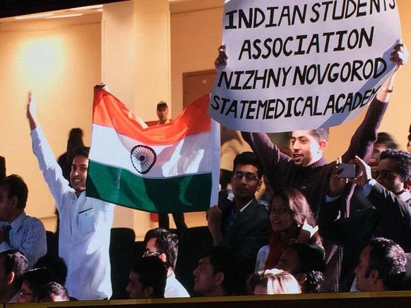 """Экспоцентр. Встреча """"Друзей Индии"""", посвященная приезду премьер-министра Индии.  Москва, 24 декабря 2015 года"""