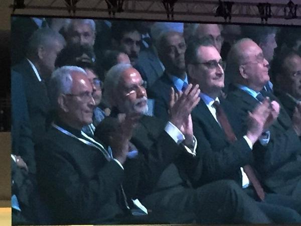 """Встреча """"Друзей Индии""""  в Экспоцентре, посвященная визиту премьер-министра Индии  господина Нарендры Моди  24 декабря 2015 года"""