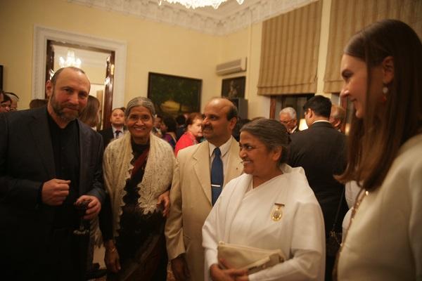 Александр Рябичев и Кришна Рой Посольство Индии.
