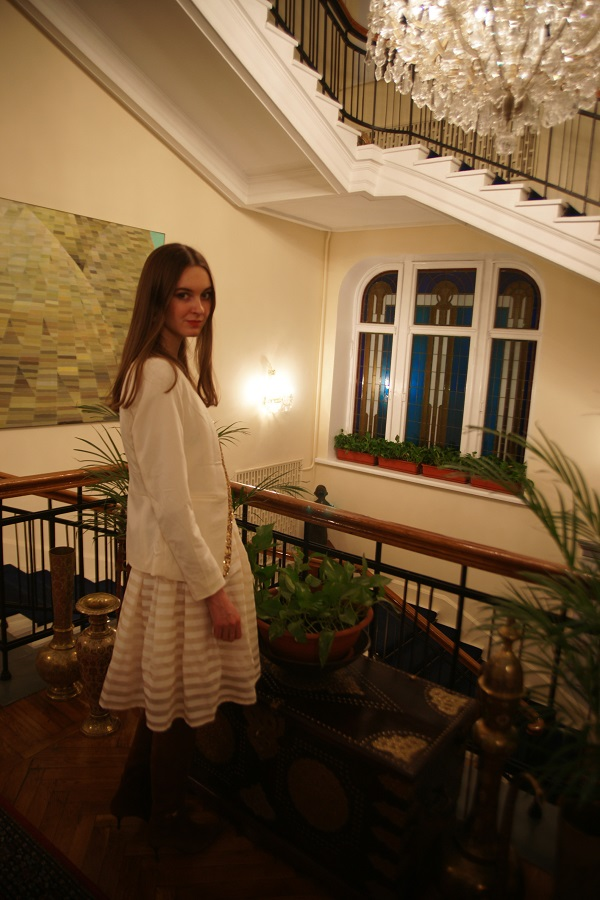 В посольстве Индии София Загряжская