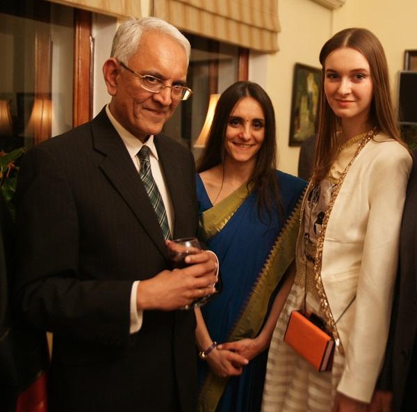 С господином  Пунди Шринивасан Рагхаваном