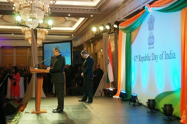 День Республики Индия торжественное открытие Арт-Релиз.РФ