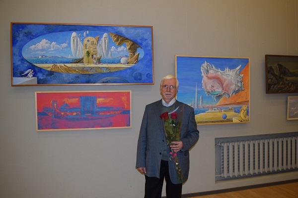 Орловский В.Ф. В. Ф. Орловский на выставке для публикации интервью АРТ-Релиз.РФ