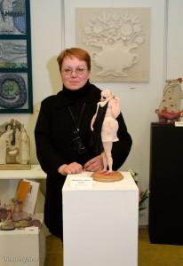 Татьяна Овчинникова автор кукол фото: Ирина Мызина Галерея Вахтанов