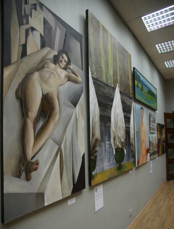 """Выставка """"Наследники"""" ВЗ МОСХ на Беговой, 7-9"""