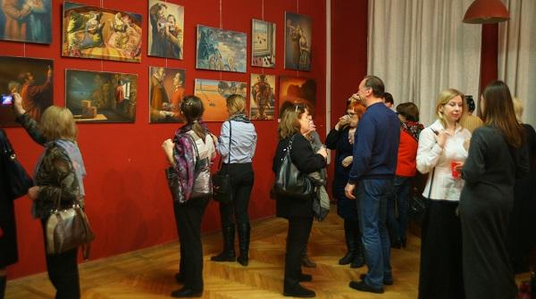 Выставка  Сергея Чайкуна в Доме Кино  Васильевская улица, дом 13  до 26 февраля 2016 года