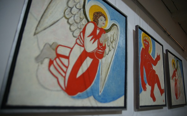 Маргарита Юркова выставка в Творческой Мастерской Рябичевых Арт-Релиз.РФ