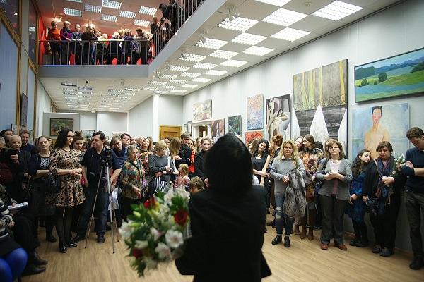 """ВЗ МОСХ на Беговой, 7-9 Выставка """"Наследники"""" 25 февраля 2016 года"""