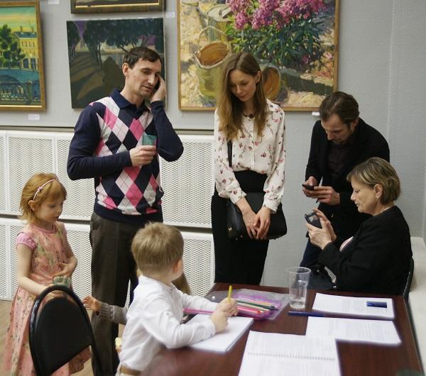 """Выставка """"Наследники"""" ВЗ МОСХ на Беговой"""