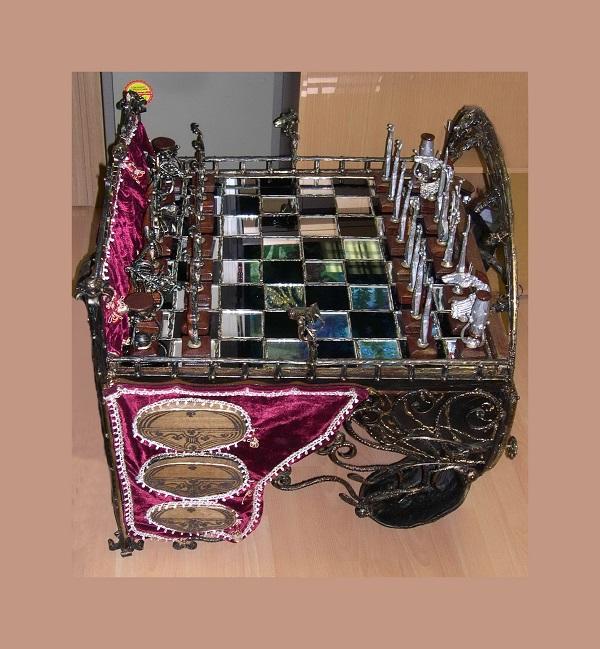 Кованные шахматы  Автор Александр Галимов
