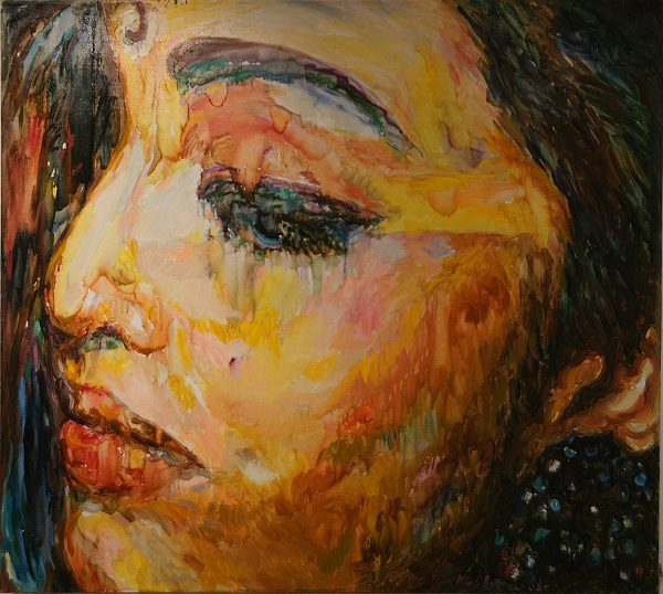 "Картина Карахана Сефербекова в экспозиции ""Впечатления об Индии"""
