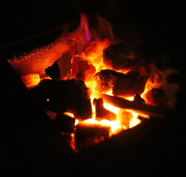 Огонь, как и другие стихии,  обладает волшебной силой, очищающей от всего злого и приносящей счастье.