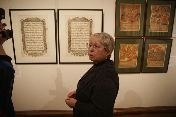 Нина Маркова хранитель гравюр Государственной Третьяковской галереи