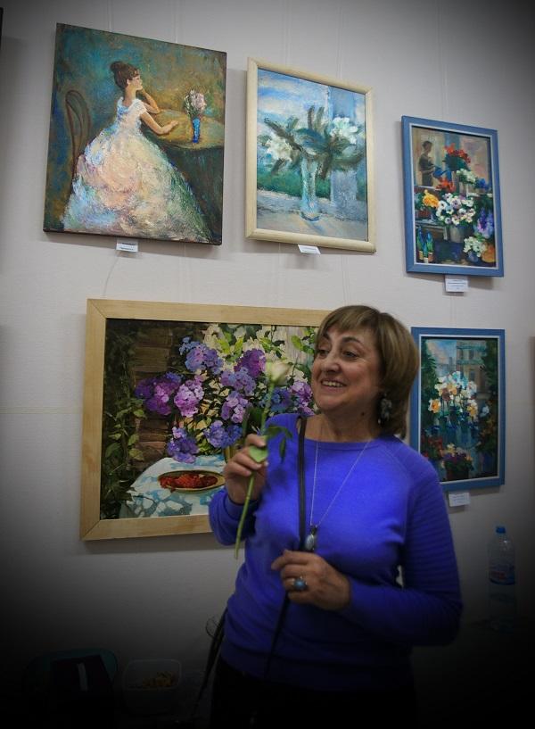 Выставка Женщины и цветы Арт-Релиз.РФ