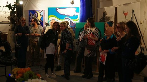 День Космонавтики Выставка в Мастерской Рябичевых фото 22 Арт-Релиз.РФ