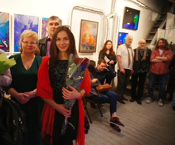 День Космонавтики Выставка в Мастерской Рябичевых (фото 25) Арт-Релиз.РФ