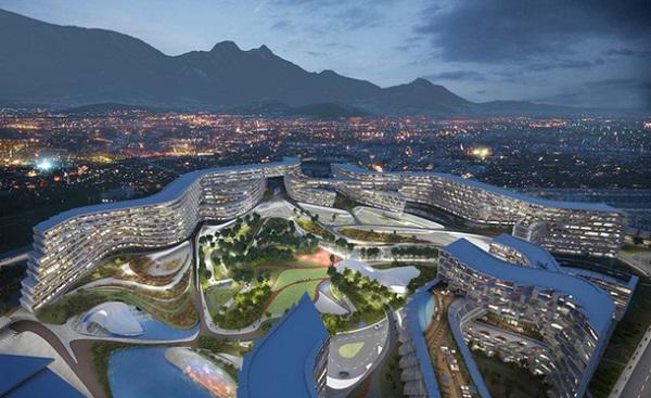 Жилой комплекс в Мексике по проекту Захи Хадид (2)