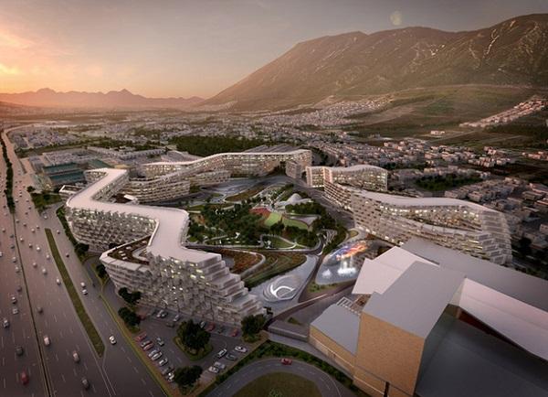 Жилой комплекс в Мексике по проекту Захи Хадид