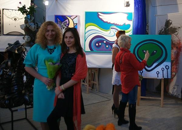 Олеся Кущенко Выставка Через Тернии к Звездам Арт-Релиз.РФ