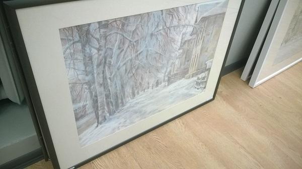 Работы Александра Михайловича Казакова выставка в процессе монтажа