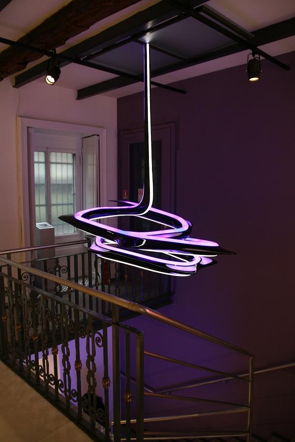 Светильник дизайна Захи Хадид для Sawaya & Moroni