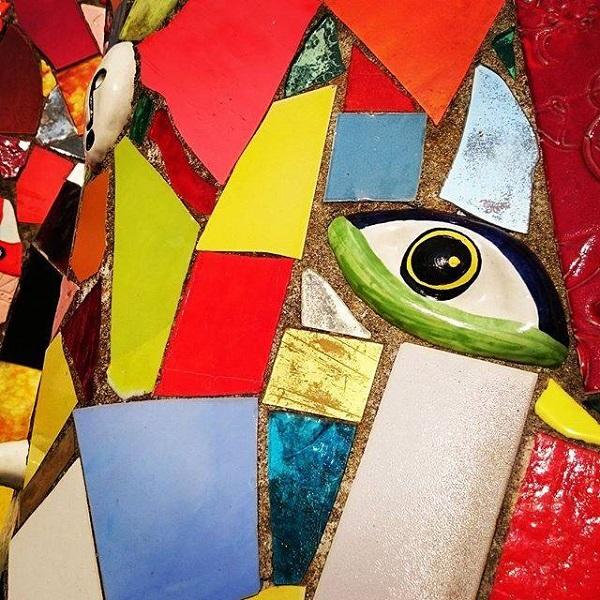 Длительность мастер-класса по мозаике  с мастером  Мишей Кипятковым   2 часа 1 группа с 13:00 до 15:00 2 группа с 16:00 до 18:00