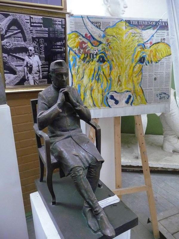 Работа Пита Килкенни  в Творческой Мастерской Рябичевых